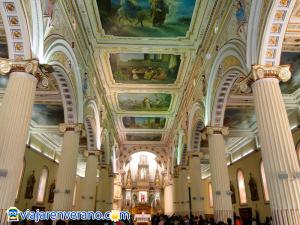Interior de la Basílica de San Pedro.