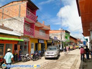 Calle Principal Palocabildo.
