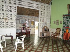Sala de residencia costeña.