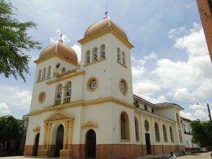 Frontis de la Iglesia de Zaragoza
