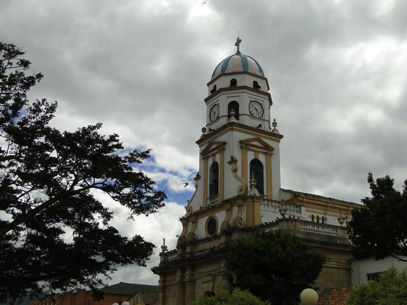 Iglesia Principal de Chía.