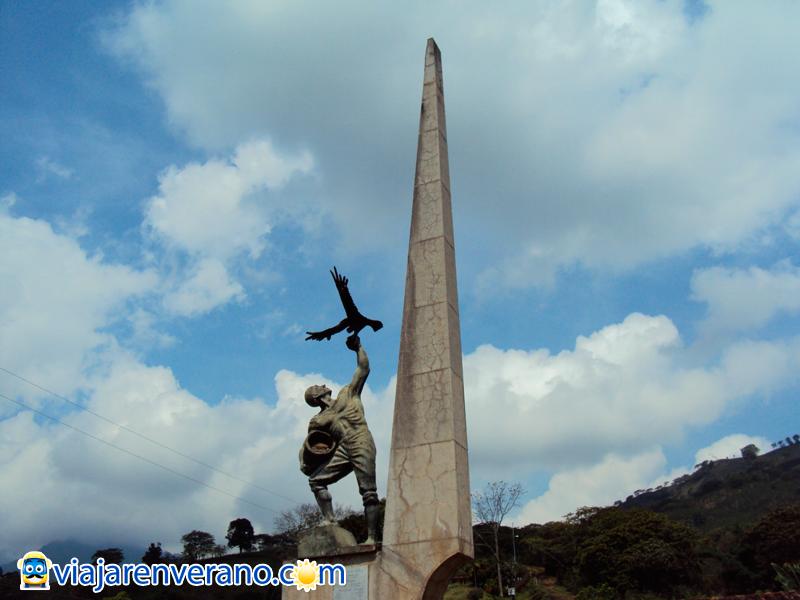 Obelisco y Caficultor.