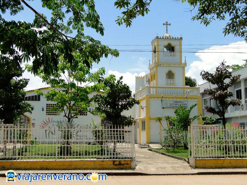 San Pablo (Bolívar), centro comercial de la zona del río.