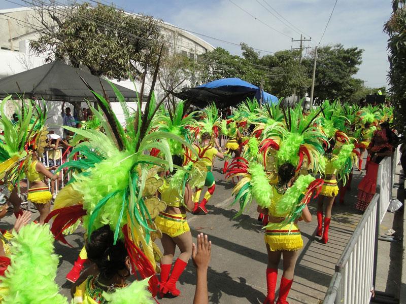 Desfile de Fantasía durante el Carnaval de Barranquilla 2017.