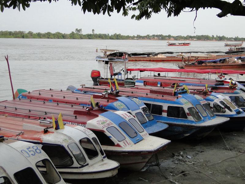 Puerto de las Chalupas en Magangué.