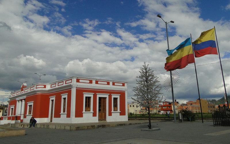 Antigua Estación del Ferrocarril.