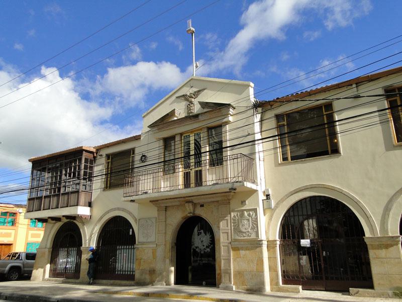 Casa de Gobierno Municipal.