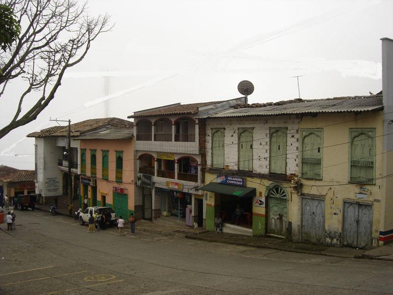 Costado sur en el 2009.