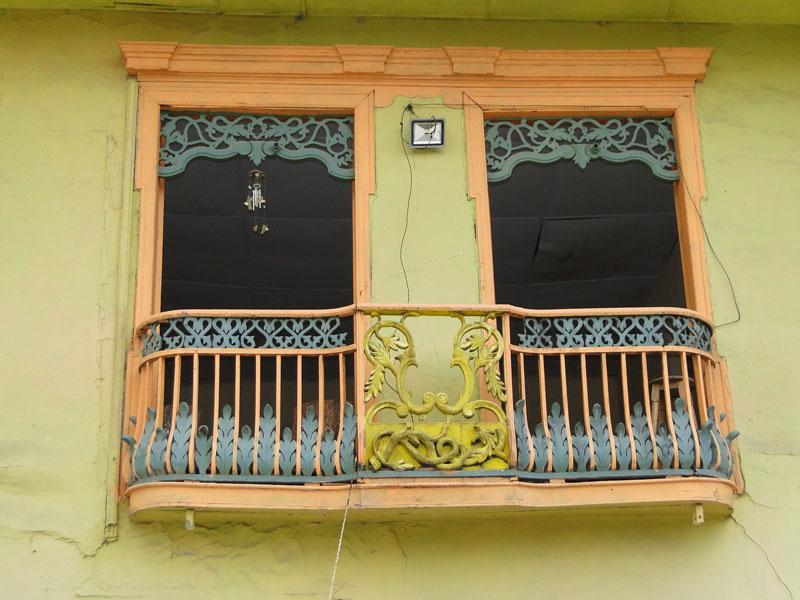 Balcón de estilo.