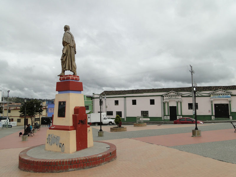 Plaza principal de Potosí.