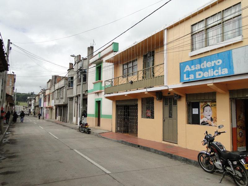 Calle central de Potosí.