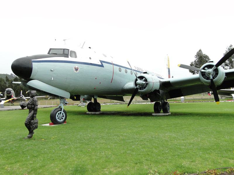 Avión del Presidente Olaya Herrera.