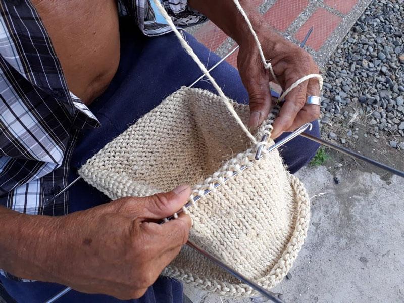 Cómo se tejen las jíqueras.