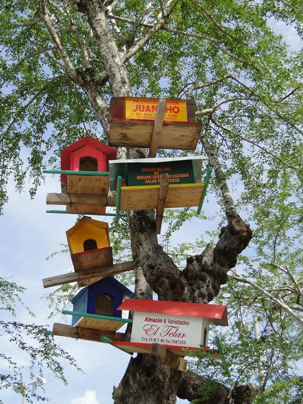 Casas de palomas.