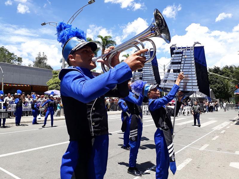 Jóvenes trompetistas.
