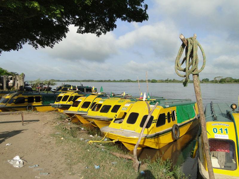 Embarcaciones de río.