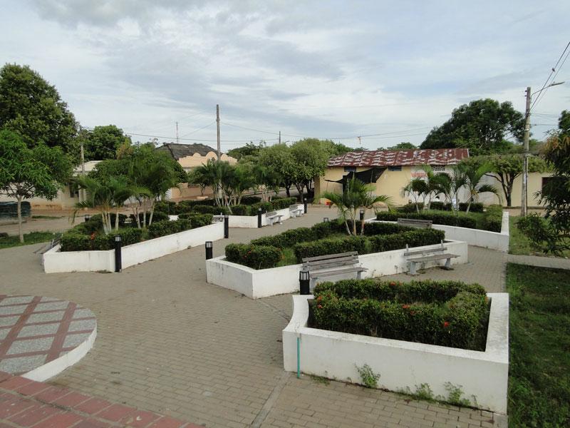 Parque principal.