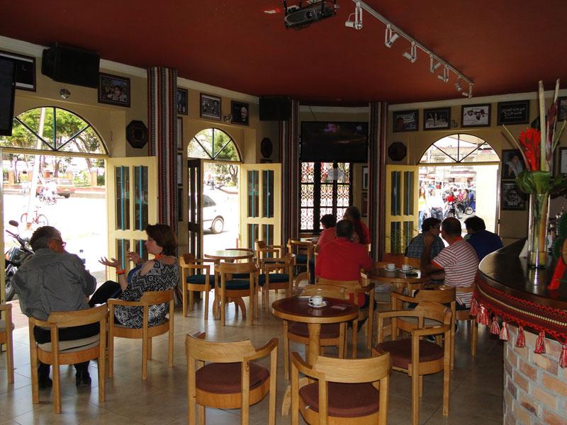 Cafetería.