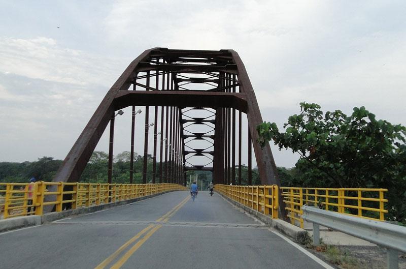 Puente en arco.