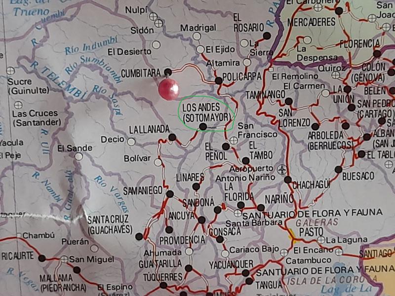 Mapa IGAC.